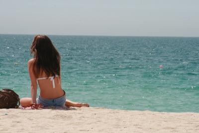 Golfo Pérsico (los bikinis no son habituales)