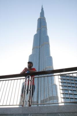 Burj Khalifa y yo