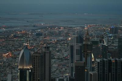 Vista desde el Burj Khalifa