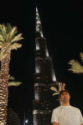 Burj Khalifa y este humilde blogger